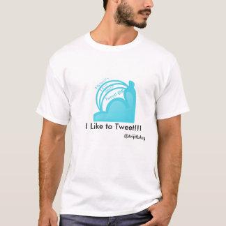 Ich mag tweeten!!! T-Shirt