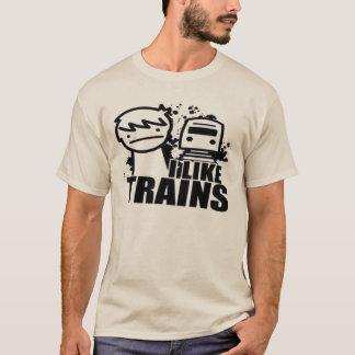 ICH MAG ZÜGE T-Shirt