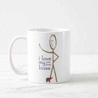 """""""Ich meine Liebe…. Chef """" Tasse"""