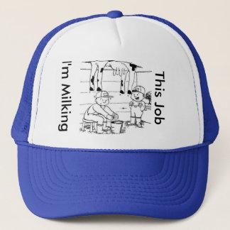Ich melke diesen Job-Hut Truckerkappe