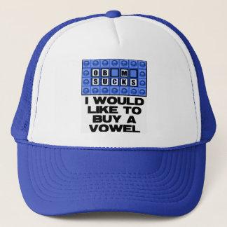 Ich möchte einen Vokal kaufen - ist zum Kotzen Truckerkappe