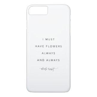 Ich muss Blumen iPhone 7 Abdeckung haben iPhone 8 Plus/7 Plus Hülle