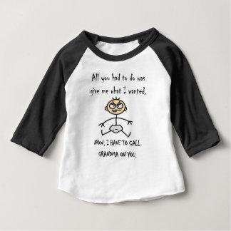 Ich nenne Großmutter T-Stück Baby T-shirt