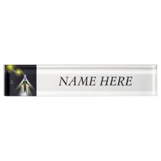 Ich nenne Licht 2 Namensplakette