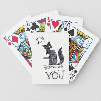 """""""Ich passe Sie"""" lustige Pokerkarten auf"""