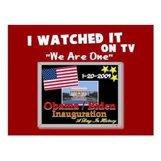 Ich passte es im Fernsehen - Einweihung 2009 auf Postkarte