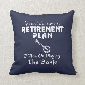 Ich plane auf dem Spielen des Banjos! Kissen