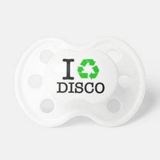 Ich recycle Disco Schnuller