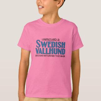Ich rettete ein schwedisches Vallhund (weiblichen T-Shirt