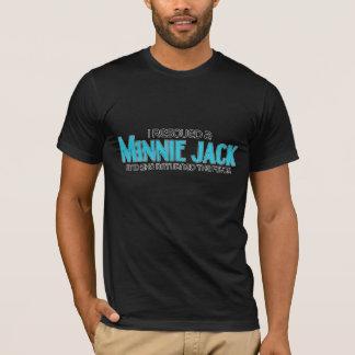 Ich rettete eine Minnie Jack-(weibliche) T-Shirt