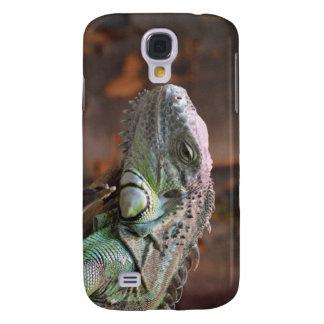 Ich rufe den 3 Speck-Kasten mit Leguaneidechse an Galaxy S4 Hülle