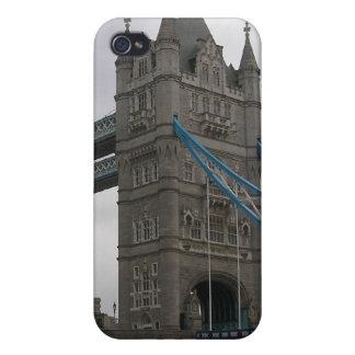 Ich rufe den 4 Speck-Kasten mit Turm-Brücke, iPhone 4 Schutzhülle
