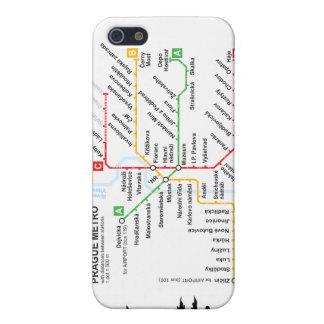 Ich rufe Prag-Metro mit 4 Fällen an iPhone 5 Case