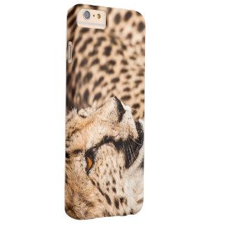 Ich rufe schützenden Fall S6 mit Gepard an Barely There iPhone 6 Plus Hülle