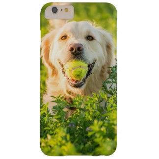 Ich rufe schützenden Fall S6 mit goldenem Retrier Barely There iPhone 6 Plus Hülle
