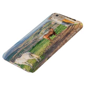 Ich rufe schützenden Fall S6 mit Pferden auf Barely There iPhone 6 Plus Hülle