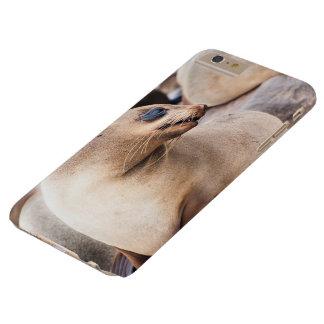 Ich rufe schützendes Kap-Pelz-Siegel des Fall-S6 Barely There iPhone 6 Plus Hülle