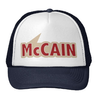 Ich sage Abstimmung McCain Retromützen