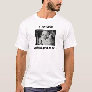 ICH SAH DEN VATI UND KÜSSTE WEIHNACHTSMANN T-Shirt