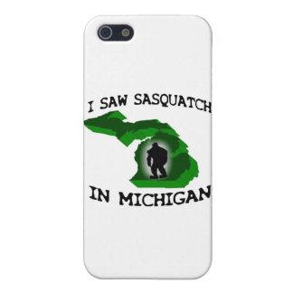 Ich sah Sasquatch in Michigan iPhone 5 Schutzhülle