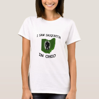 Ich sah Sasquatch in Ohio T-Shirt