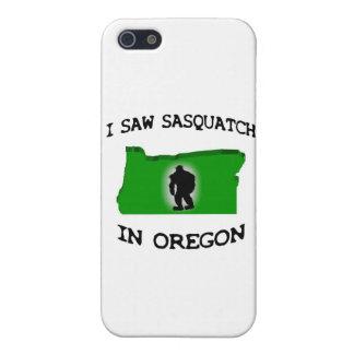 Ich sah Sasquatch in Oregon iPhone 5 Etui