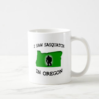 Ich sah Sasquatch in Oregon Kaffeetasse