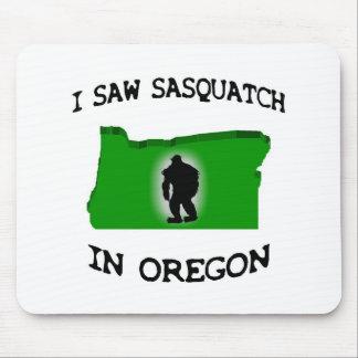 Ich sah Sasquatch in Oregon Mousepad