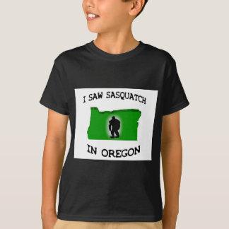Ich sah Sasquatch in Oregon T-Shirt