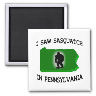 Ich sah Sasquatch in Pennsylvania Magnets