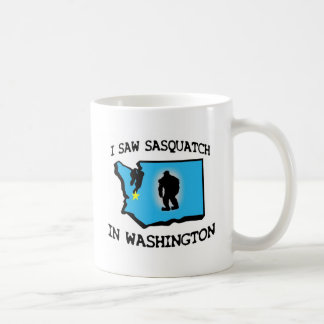 Ich sah Sasquatch in Washington Kaffeetasse