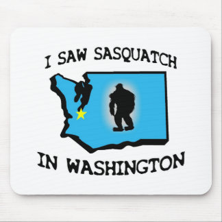 Ich sah Sasquatch in Washington Mauspad