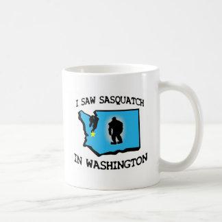 Ich sah Sasquatch in Washington Tasse