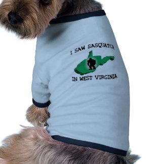 Ich sah Sasquatch in West Virginia Haustierkleidung