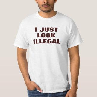 Ich schaue gerade illegal t shirt