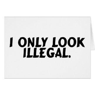 Ich schaue nur illegal karte