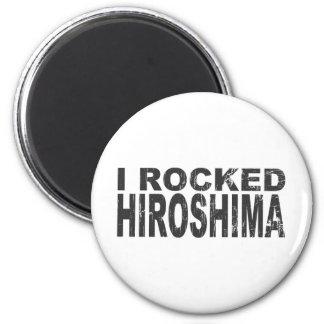 Ich schaukelte Hiroshima-Magneten Runder Magnet 5,7 Cm
