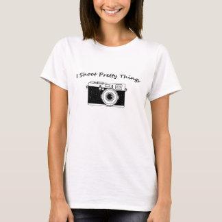 Ich schieße hübsche Sache-Fotografie T-Shirt