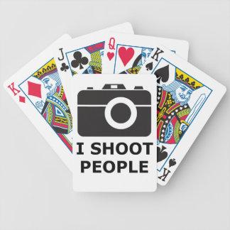 Ich schieße Leute Bicycle Spielkarten