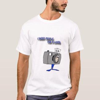 Ich schieße Leute für ein Leben T-Shirt