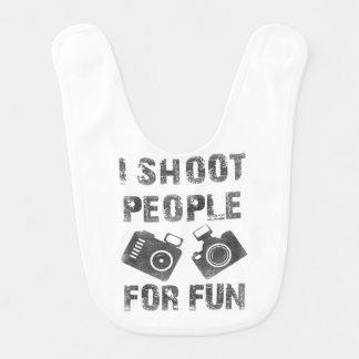 Ich schieße Leute für Spaß Lätzchen