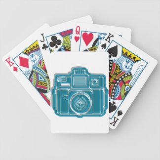 Ich schieße noch Film Holga Logo Bicycle Spielkarten