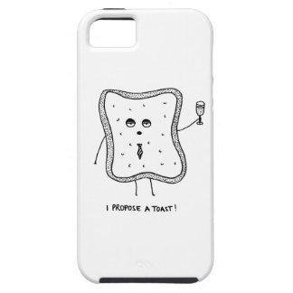 Ich schlage einen Toast vor Etui Fürs iPhone 5