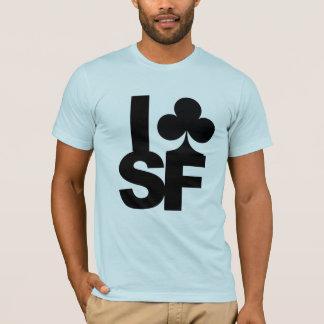 Ich schlage San Francisco mit einer Keule T-Shirt