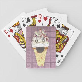 Ich schreie Spielkarten