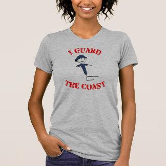 """""""Ich schütze die Küsten-"""" der T - Shirt der Frauen"""