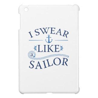 Ich schwöre wie ein Seemann iPad Mini Hülle