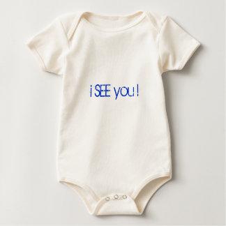 ich SEHE Sie! II (homme) Baby Strampelanzug