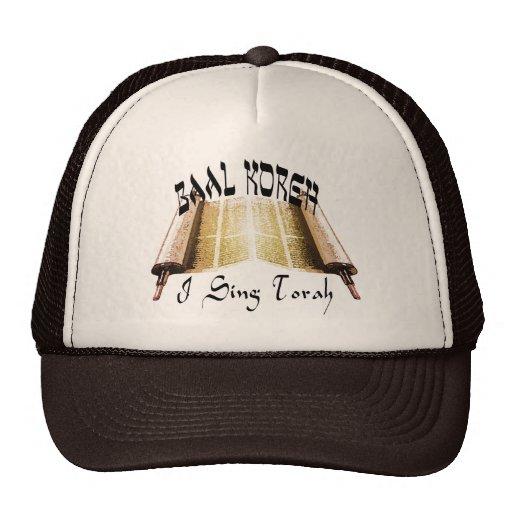 Ich singe Torah Hüte Baseball Mütze