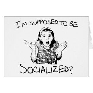 Ich soll sozialisiert werden? karte